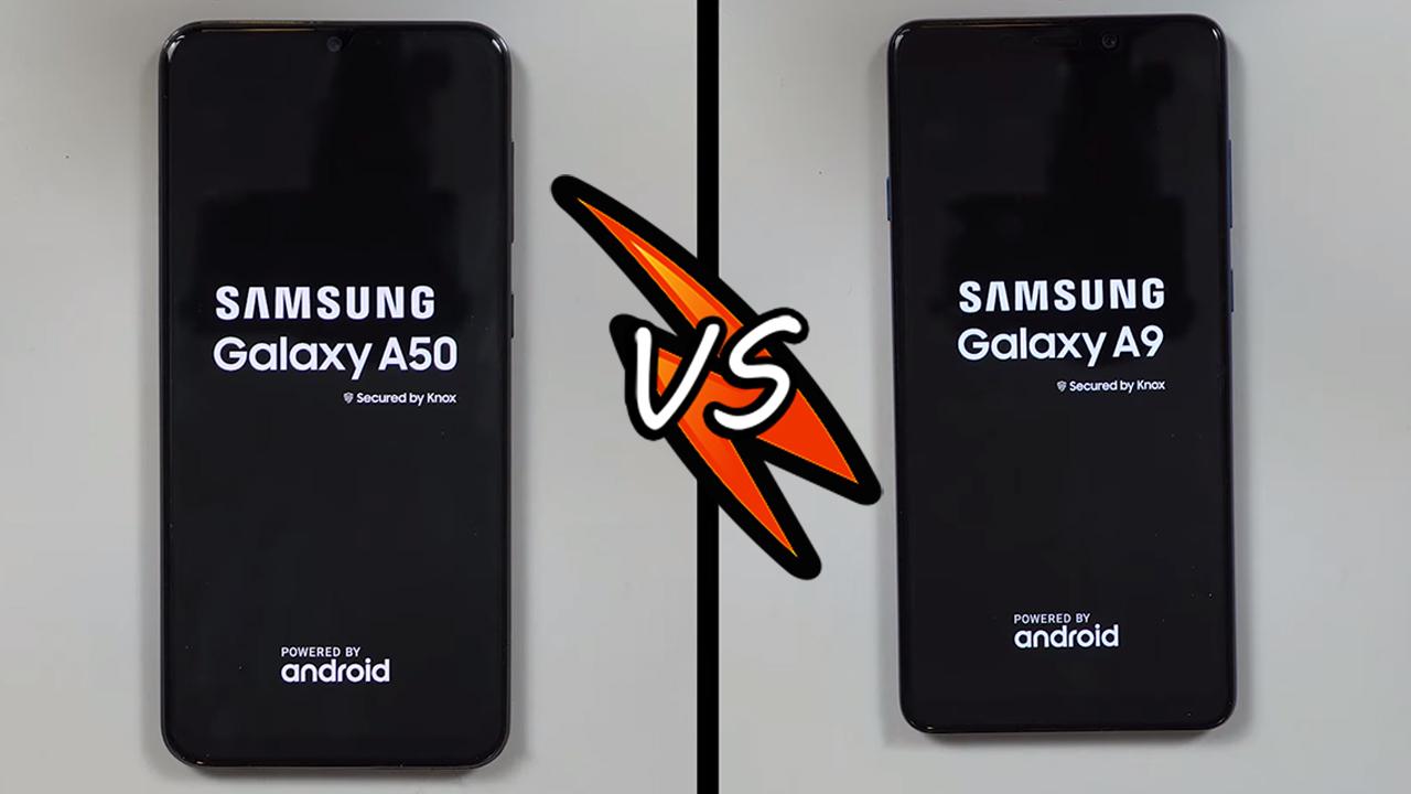 Hız Testi   Samsung Galaxy A50 vs. Samsung Galaxy A9