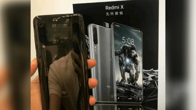 Snapdragon 855, Redmi X, Redmi, Xiaomi, Xiaomi Redmi X, çentiksiz ekran, kople ekran, akıllı telefon. Yeni Xiaomi telefon. Full ekran, açılır kapanır ön kamera, kızaklı kamera
