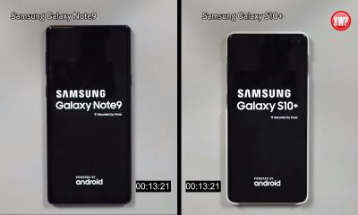 Hız Testi | Samsung Galaxy Note 9 vs. Samsung Galaxy S10+