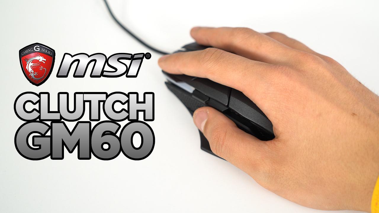 Şekilden şekile giren oyuncu faresi! | MSI Clutch GM60