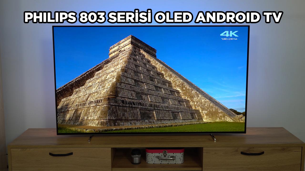 Philips 803 Serisi OLED Android TV