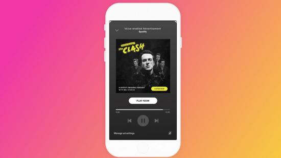 Spotify ses ile etkinleştirilen reklam hizmetini deniyor