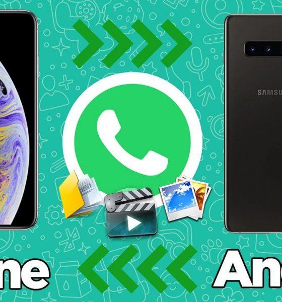 Android ve iPhone arasında WhatsApp transferi! | iSkysoft Toolbox