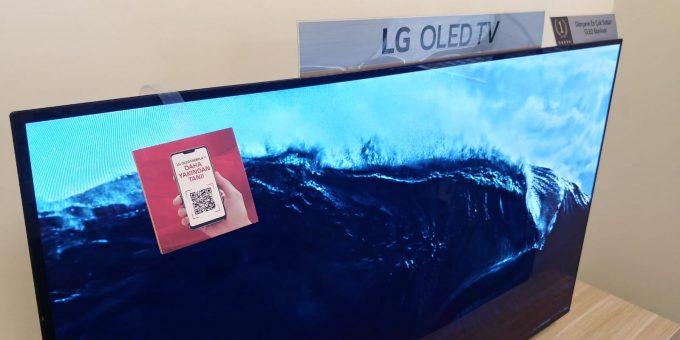 LG ürünlerindeki QR kod ile detaylı bilgi edinin
