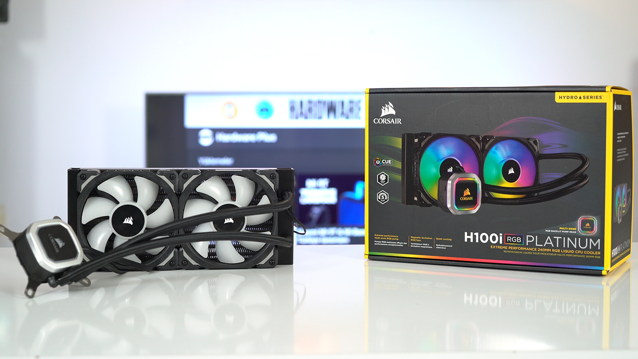 Corsair H100i RGB Platinum incelemesi   Efsane ışıklandı!