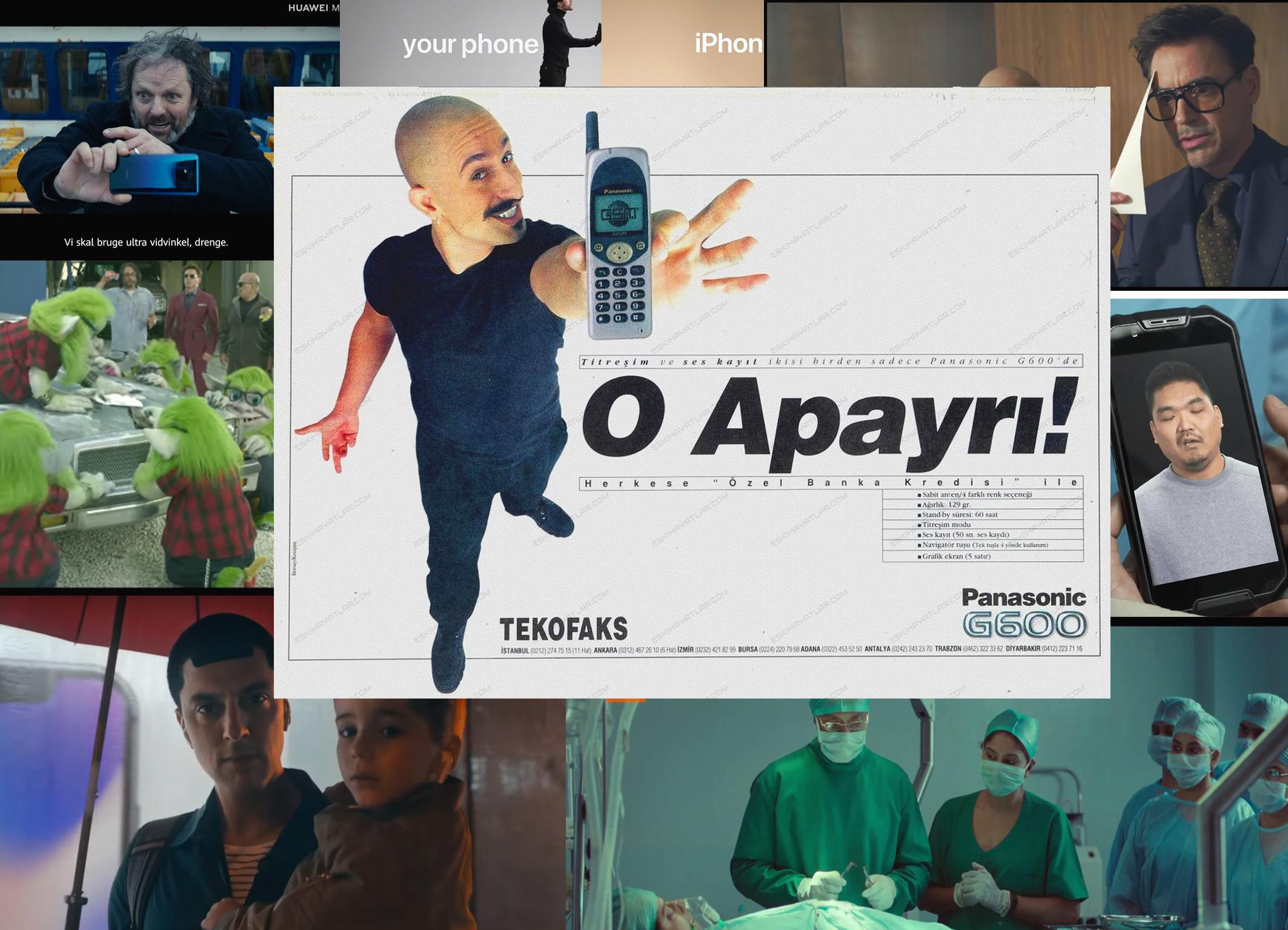İlginç telefon reklamları
