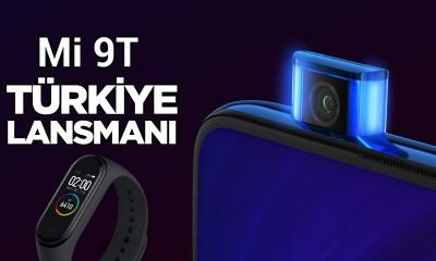 Xiaomi Mi 9T & Mi Band 4 Türkiye lansmanı