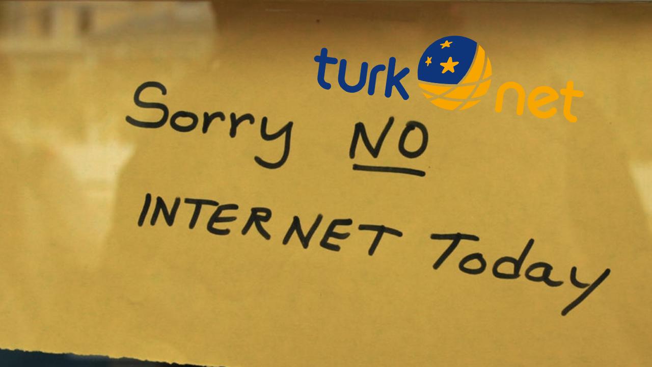 TurkNet kullanıcıları Türkiye genelinde bağlantı sorunu yaşıyor!
