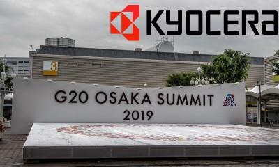 G20 Osaka Zirvesi 2019 Kyocera