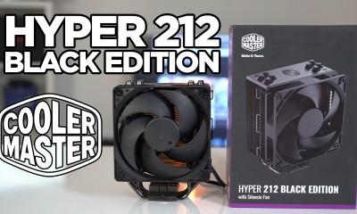 Cooler Master Hyper 212 Black Edition incelemesi | Sessiz ve şık