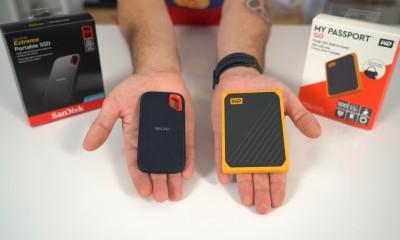 El kadar taşınabilir SSD: Sandisk Extreme Portable ve WD My Passport Go