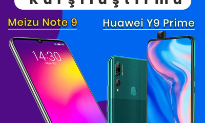 Huawei Y9 Prime 2019 vs Meizu Note 9