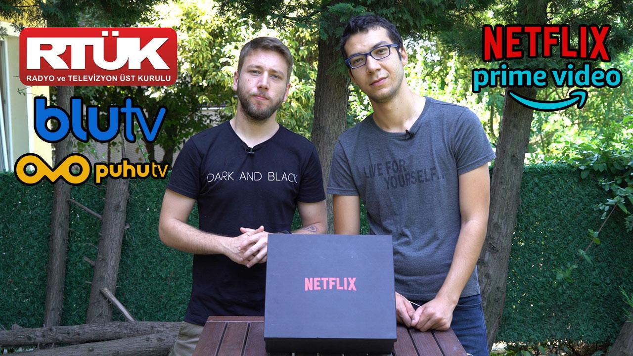 Netflix ve BluTV gibi platformlara RTÜK denetimi başladı! | Peki şimdi ne olacak?