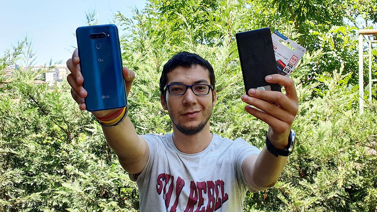 LG Q60 özelliklerine yakından bakıyoruz | Powerbank ve SD kart hediyeli!