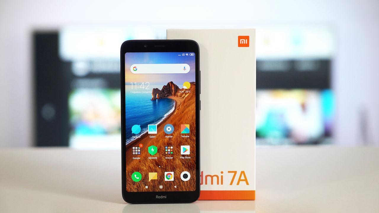 Xiaomi Redmi 7A inceleme   1000 TL altı telefon arayanlara!
