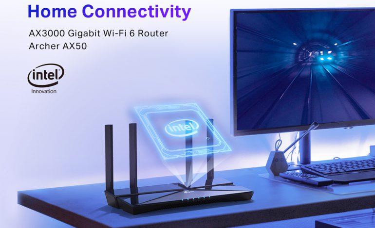 3 Gbps hız destekleyen Wi-Fi 6 router: TP-Link Archer AX50