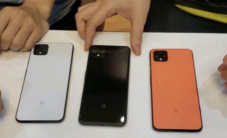 Google Pixel 4, tanıtılmadan Youtube'da incelemesini yaptılar!