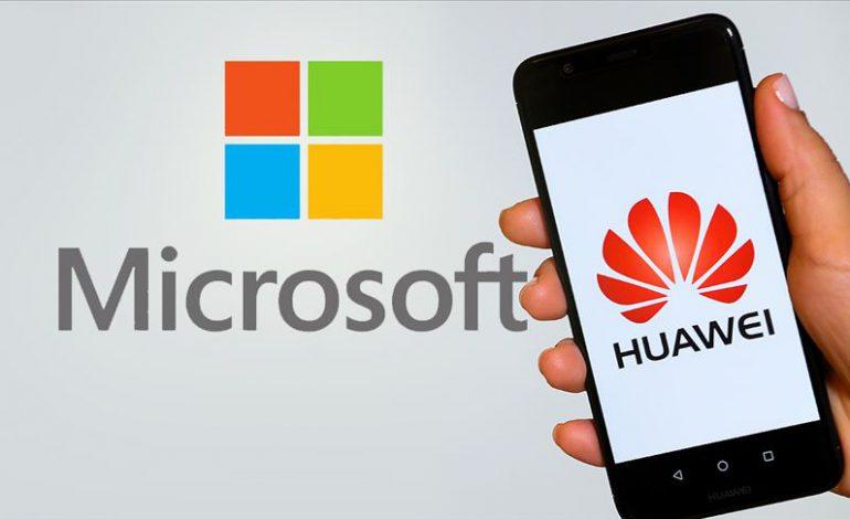 Microsoft: ABD hükümeti Huawei'ye haksızlık etti
