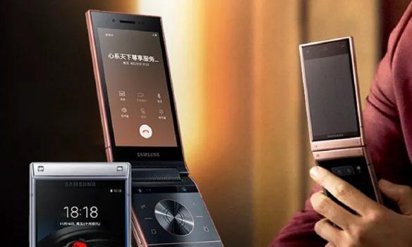 Samsung W20 (5G) akıllı telefonu geliyor