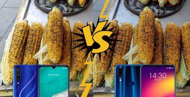 Xiaomi Mi A3 vs Meizu Note 9 kamera kıyaslaması