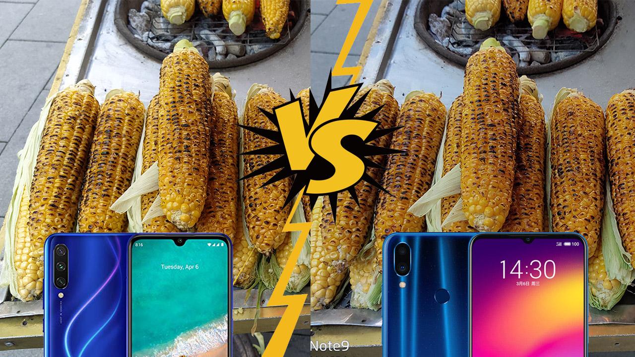 Xiaomi Mi A3 vs Meizu Note 9 kamera karşılaştırması
