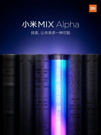 Xiaomi Mi Mix Alpha.