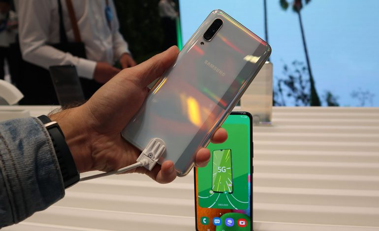 Samsung Galaxy A90 5G ön inceleme