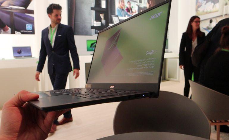 Dünyanın en hafif 14 inç dizüstü bilgisayarı – Acer Swift 5