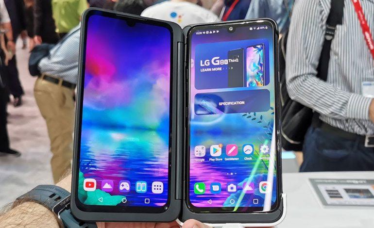 İkinci ekranı kutudan çıkan telefon: LG G8X ThinQ | #IFA2019