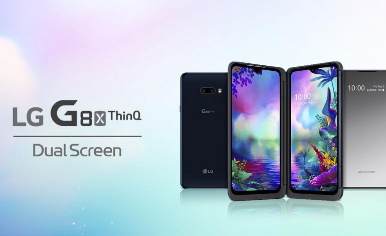 Ekranlı kılıfa sahip LG G8X ThinQ tanıtıldı!