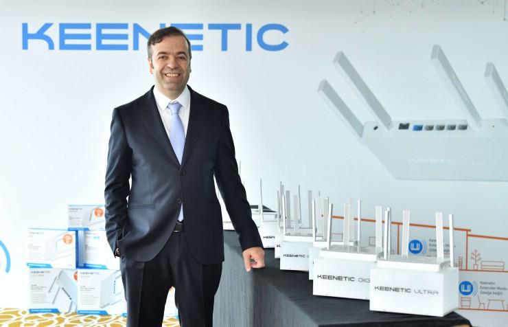 Keenetic Türkiye CEO Vefa Tarhan