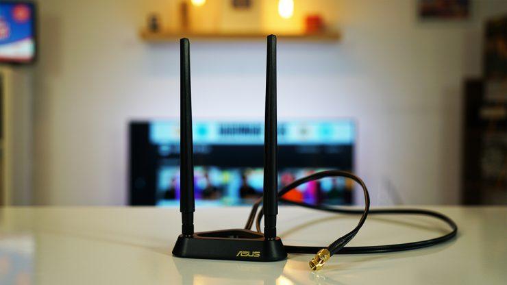 Asus PCE-AX58BT anten