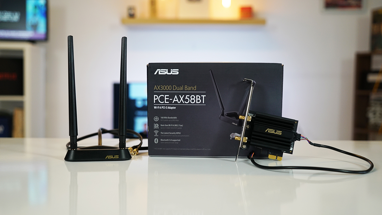 Asus PCE-AX58BT