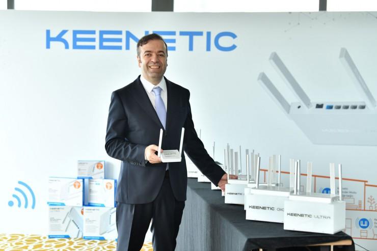 Keenetic Türkiye kurucusu, Yönetim Kurulu Başkanı ve Genel Müdürü Vefa Tarhan