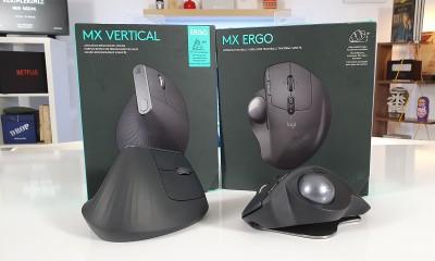 Logitech MX Ergo & MX Vertical | Karpal Tünel Sendromu'na özel fare modelleri!
