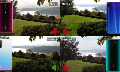 Redmi Note 8 Pro, Mi 9T, Redmi Note 8 ve Redmi Note 7 video karşılaştırma