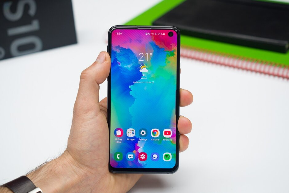 Samsung galaxy s10 android 12