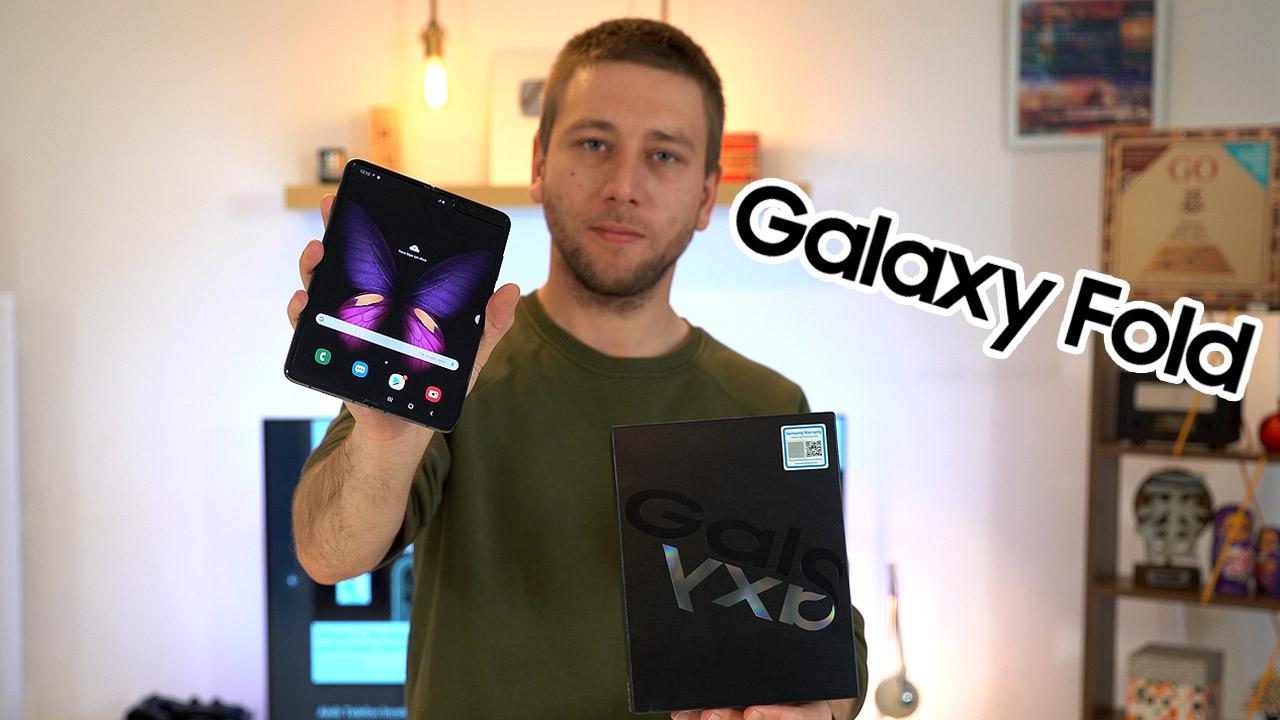 Samsung Galaxy Fold kutu açılışı
