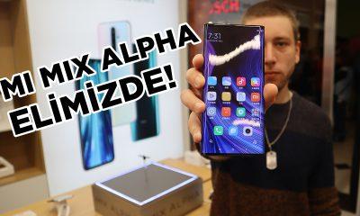 Xiaomi Mi Mix Alpha elimizde!