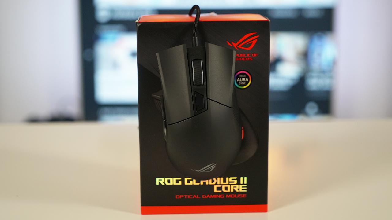 ROG Gladius II Core