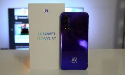 Huawei Nova 5T kutu açılışı