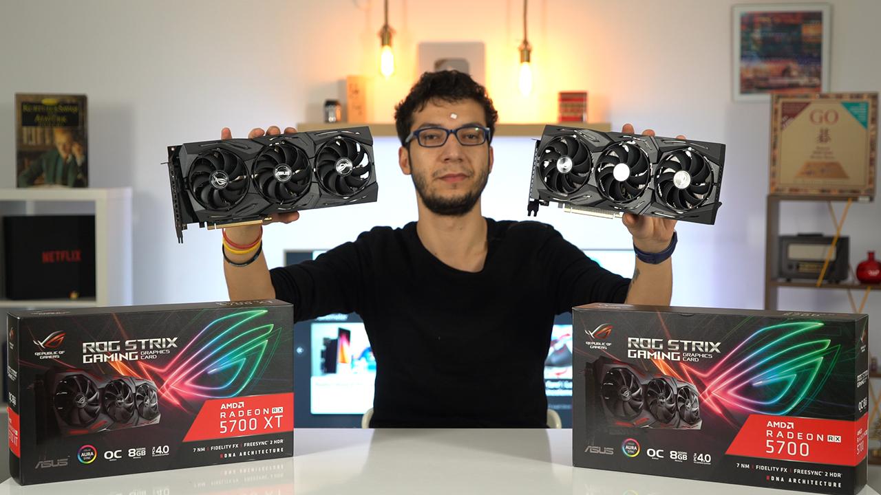 AMD'nin en iyileri: ROG Strix Radeon RX 5700 XT ve RX 5700