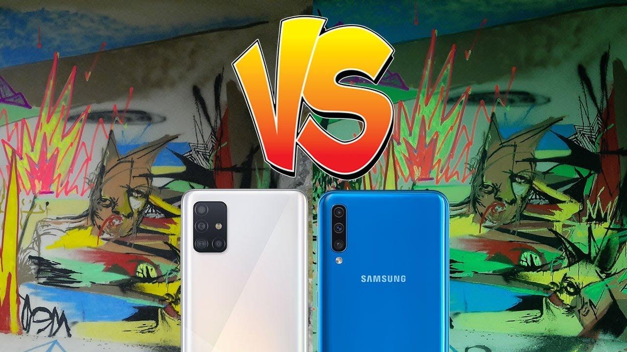 Samsung Galaxy A51 vs. Samsung Galaxy A50 kamera kıyaslama