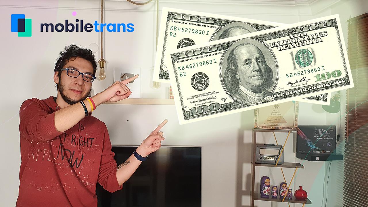 10 kişiye 100 dolar kazanma şansı! | #MobileTransToSamsung