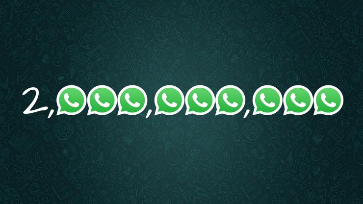 2 milyon whatsapp