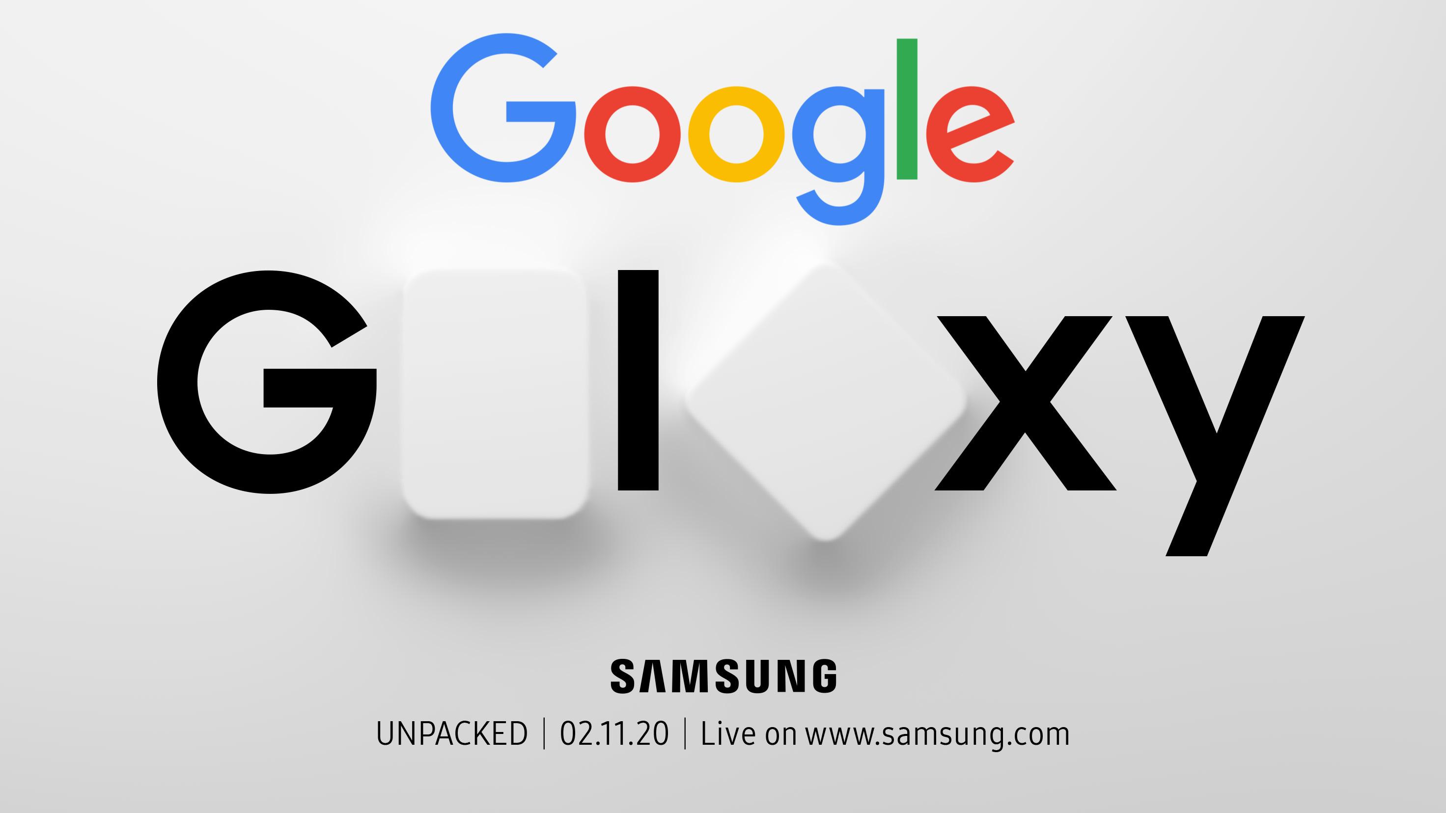 Galaxy Unpacked Google