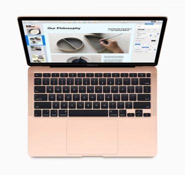 Apple 2020 Macbook Air modelini duyurdu!