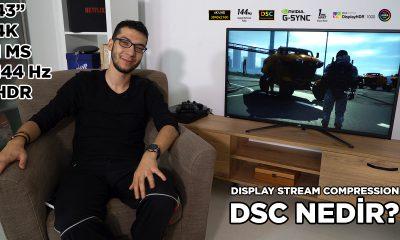 43 inç ekranda 4K HDR ve 144 Hz keyfi! | DSC Nedir? (ROG Swift PG43UQ)