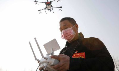 Dronelar mücadele