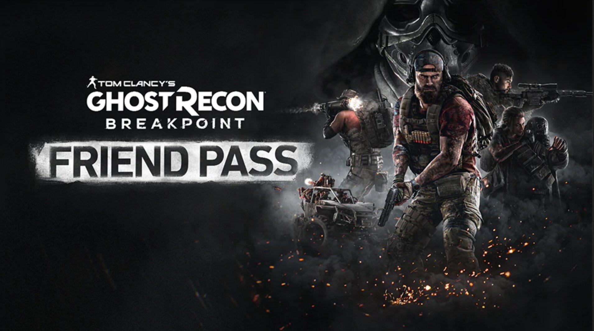Ghost Recon Breakpoint FriendPass